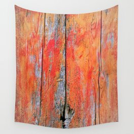 Weathered Wood Shutter rustic decor Wall Tapestry