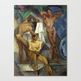 Young Bathers by George Pauli Nude Male Art Canvas Print