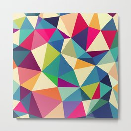 Abstract, geometric backgrounds. Metal Print