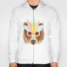 The Bear with the Paper Mask Hoody