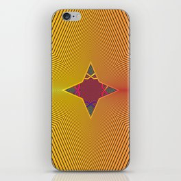 Through the Stars iPhone Skin