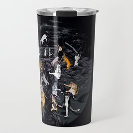 Meowlin Temple Travel Mug