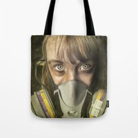 apocalypse now Tote Bags featuring Apocalypse by Bruce Stanfield Photographer