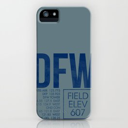 DFW iPhone Case