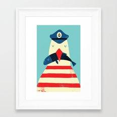 A Sailors Life For Me Framed Art Print