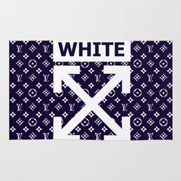 off white lv Rug