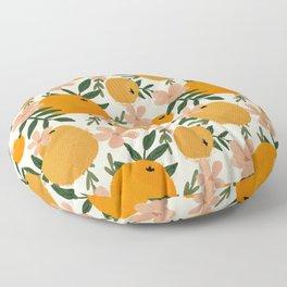 Citrusy  Floor Pillow