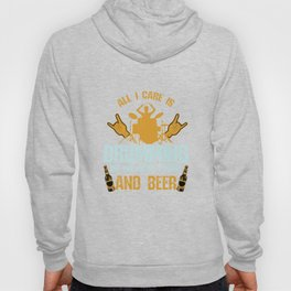 All I Care About Is Drumming And Beer Drummers Music Lovers Musicians Drums Rock Bands Gift Hoody