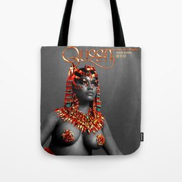 Queen is the title Tote Bag