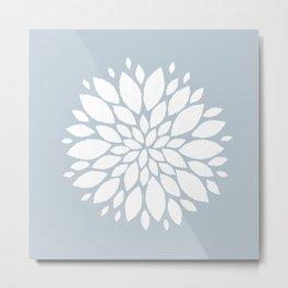Flower in White #1 Metal Print