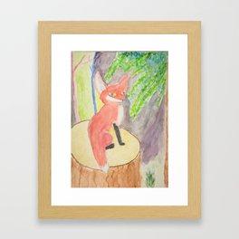 Fox of Karlie Framed Art Print