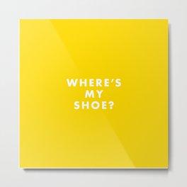 The Royal Tenenbaums - Where's my shoe? Metal Print