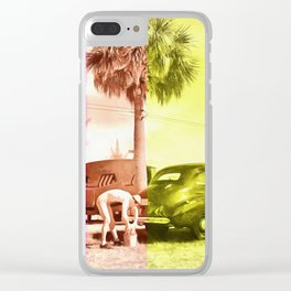 Sarasota Florida Trailer Park Series Car Wash Clear iPhone Case
