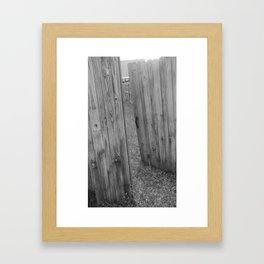 Behind Door 1 Framed Art Print