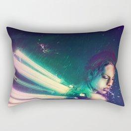 The Humming Dragonfly Rectangular Pillow