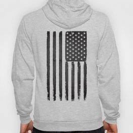 Grey American flag Hoody