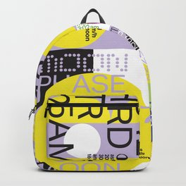 Moon phase golden ratio Sept-Oct 2017 Backpack