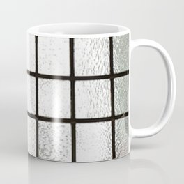 Frosted Glass in a Window Frame Coffee Mug