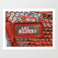Art Drugs Art Print