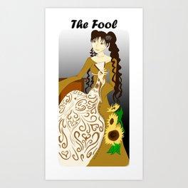 Himawari- The Fool Art Print