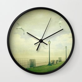 On The Boardwalk Wall Clock