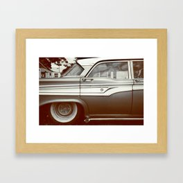 the alleyway Framed Art Print