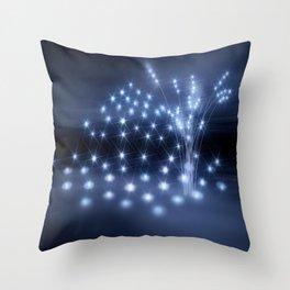 stiller Ort der Sternenkinder Throw Pillow