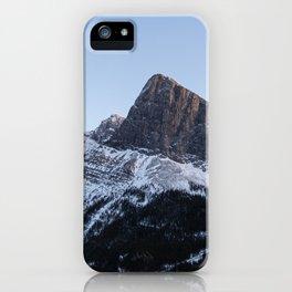 Ha Ling Peak Sunset iPhone Case
