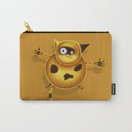Flying Fat Cat | Golden Carry-All Pouch