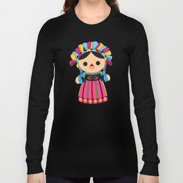 Maria 3 (Mexican Doll) Long Sleeve T-shirt