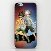 hunter x hunter iPhone & iPod Skins featuring Hunter x Hunter by Fishiebug