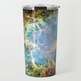 Hubble Telescope: Crab Nebula Travel Mug