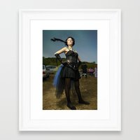 burlesque Framed Art Prints featuring Burlesque by Flashbax Twenty Three
