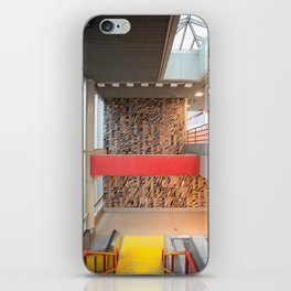 Detroit People Mover Art Broadway iPhone Skin