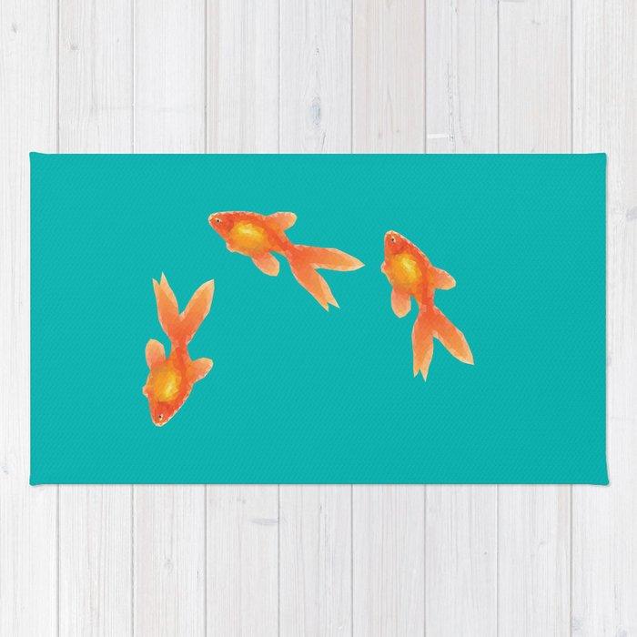 Goldfishes Rug