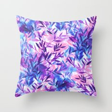 Changes Purple Throw Pillow