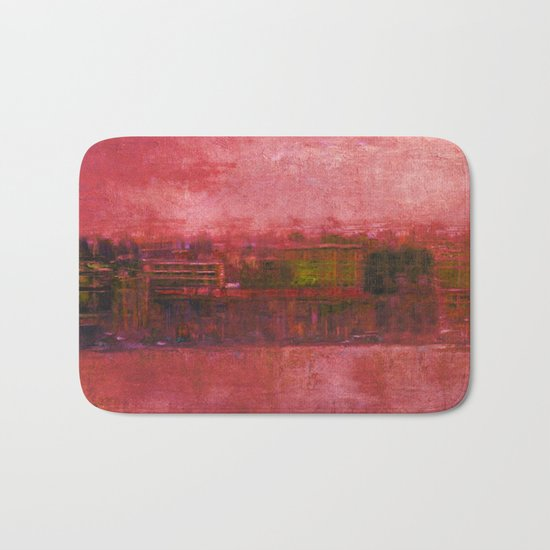 Purple Sunset Bath Mat