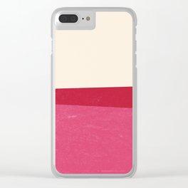 Stripe Clear iPhone Case