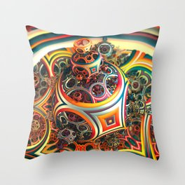 Romper Room Throw Pillow