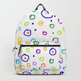 circles pattern Backpack