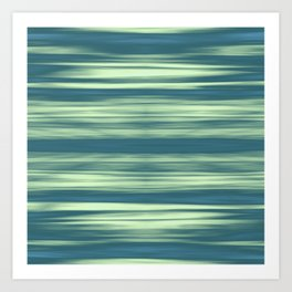 Abstraction Serenity in Afternoon at Sea Art Print