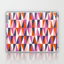 a harlequin party in pink! Laptop & iPad Skin