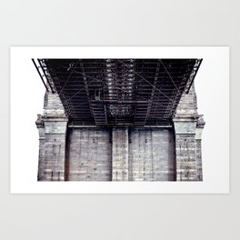 B is for Bridge Art Print