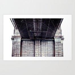 B is for Bridge Art Print