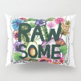 Rawsome - Plant Power Pillow Sham