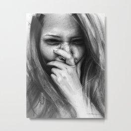 Yami Metal Print