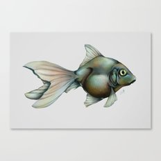 My Mother is a Fish Canvas Print