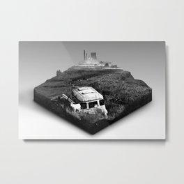 Piece of land Metal Print
