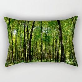 Green breeze Rectangular Pillow