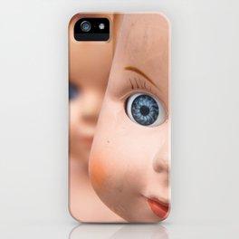 Baby Blue Eyes iPhone Case